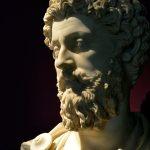 27/01/2015 Roma. La mostra ' L'Età dell'Angoscia - Da Commodoi a Diocleziano ' ai Musei Capitolini fino al 4 ottobre 2015. Marco Aurelio