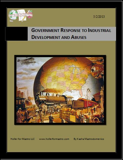 Government Response to Industrialization and Abuses Differentiated Instruction Lesson Plan