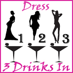 Dress 3 Drinks In