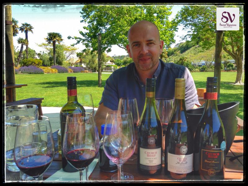 Interview Chris Scott: Winemaker at Church Road Winery