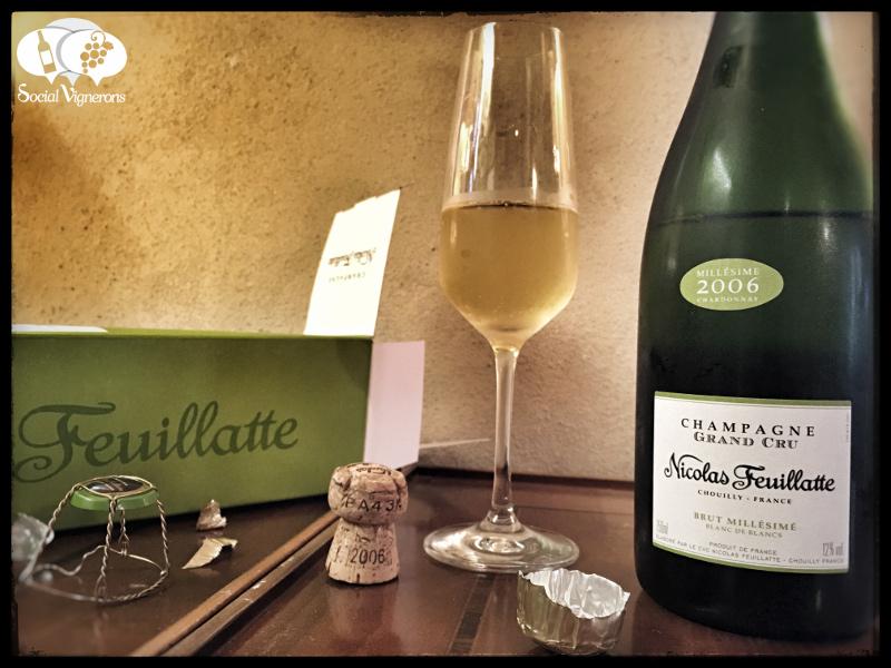2006 Nicolas Feuillate Grand Cru Blanc de Blancs Brut Millésimé Chardonnay, Champagne
