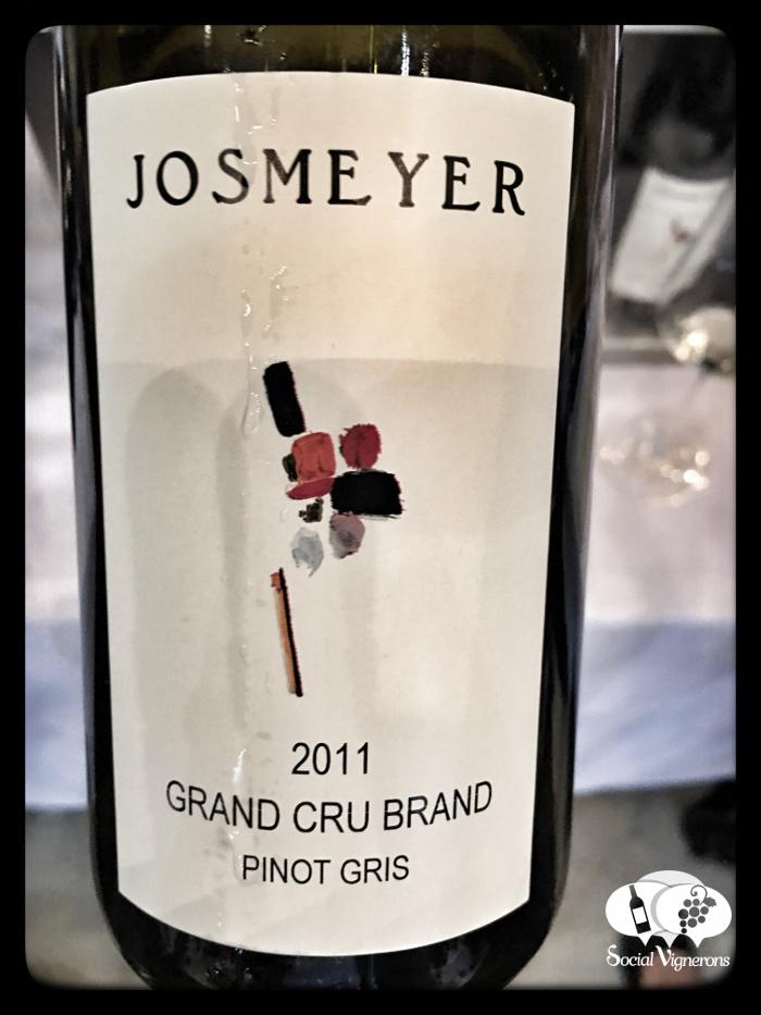 2011 Josmeyer Pinot Gris Brand Grand Cru, Alsace