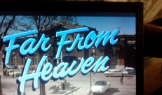 Film Industry and Internet - Far from Heaven
