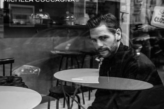 Dralms. Christopher Smith.Portrait 2015.Paris.Michela Cuccagna©