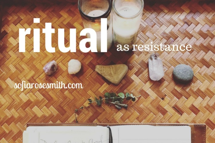 ritual as resistance for crop