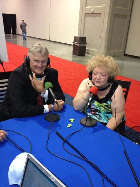 NQC 2012 Steve French of Kingdom Heirs and songwriter Dianne Wilkinson thumbnail