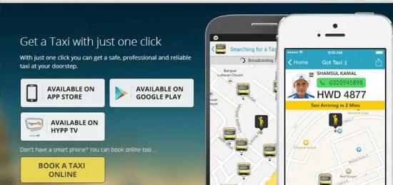 aplikasi teksi monger