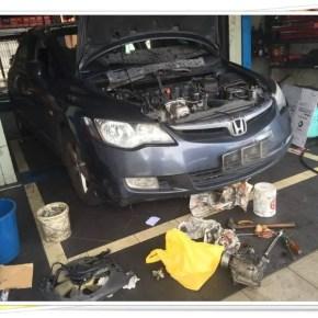 Honda Civic 8th Gen – Masa Untuk Tukar Air Cond
