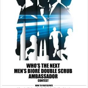 Contest Siapa Ambassador Men's Biore Double Scrub Seterusnya?