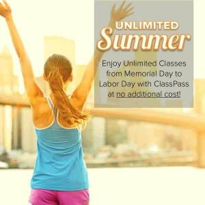 Class Pass Unlimited Summer