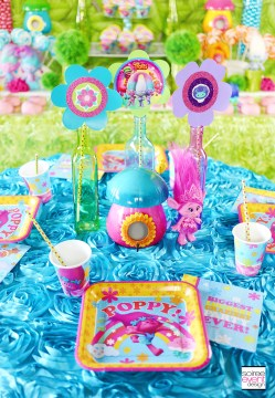 Small Of Trolls Birthday Party Ideas