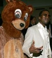 Mascot and Kanye West