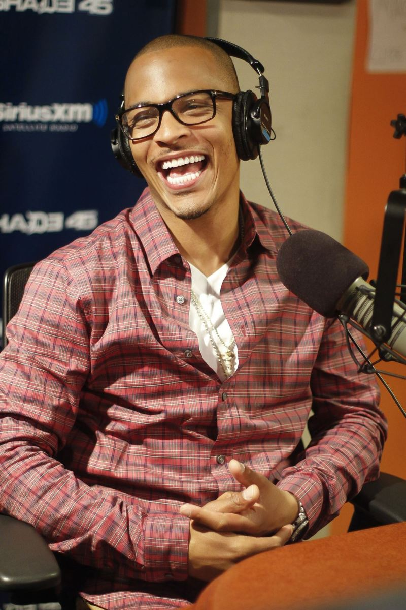 T.I. visits the studios of SiriusXM on September 18, 2012.