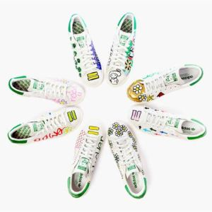 adidas Originals Stan Smith Hand-Painted by Pharrell