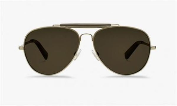 Warby Parker & Into The Gloss Aviator Sunglasses