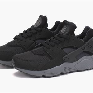 "Nike Air Huarache ""Black/Black-Dark Grey"""