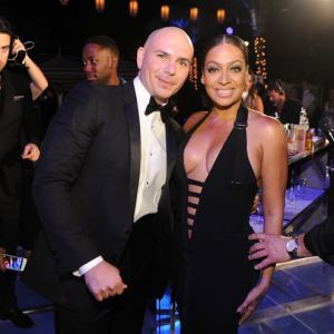 Pittbull and La La Anthony 2