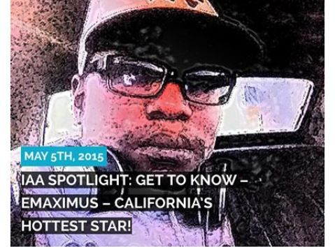 Emaximus has passion in rap that reps west coast to the fullest!