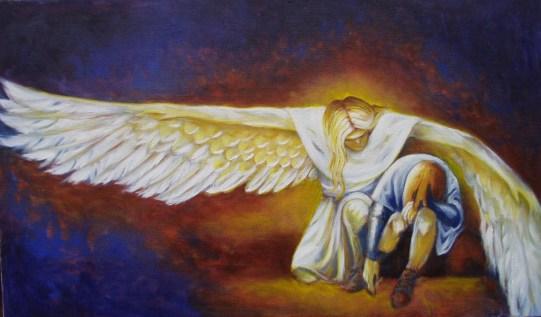 Resultado de imagem para imagens de os anjos cuidam de nós