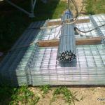 太陽光発電所のフェンス施工:その後