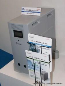 田淵電機の5kWh リチウムイオン蓄電池システム