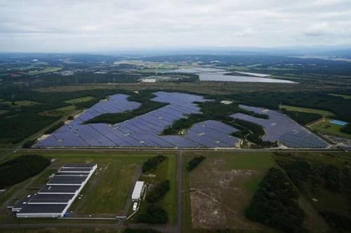 シャープ苫東の森(とまとうのもり)太陽光発電所