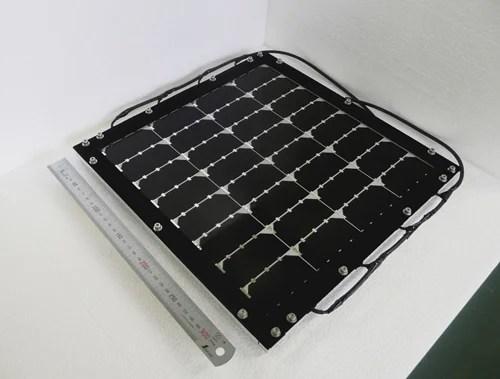 シャープが開発した、変換効率31.17%の化合物系太陽電池