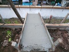 コンクリート流し台
