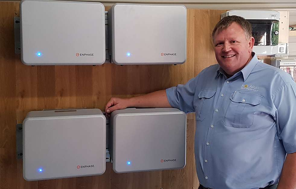 Solaray Install The Worlds First Enphase Batteries