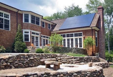 SunPower 225 watt Solar Panels on home