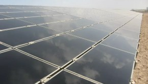 Solar panels in Masdar City. Credit: Zachary Shahan / Solar Love