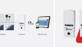 SolarEdge inverter offers advanced safety and power monitoring capabiity