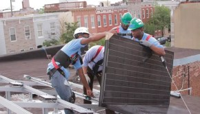 GRID Alternatives Baltimore program will bring clean solar energy to 10 inner city homes and provide job training services