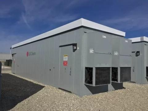 LG Chem 3 Megawatt Grid Storage System For Ohio