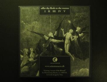 SOL Offer Thy flesh to the worms cd back