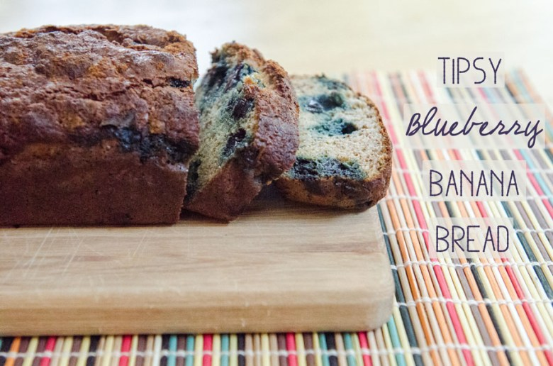 Paleo Favorite Banana Blueberry Quick Bread