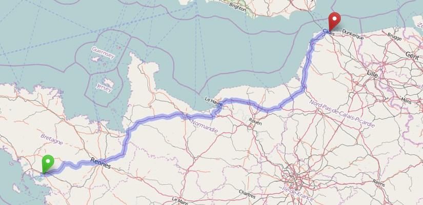 Collecte vêtements/matériel pour un convoi Vannes Calais