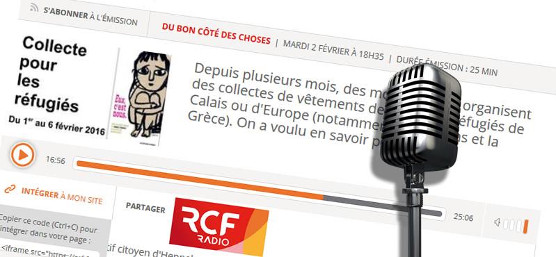 Interview sur RCF Sud Bretagne