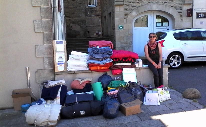L'association solidarité réfugiés Centre-Bretagne organise plusieurs collectes ce samedi 23 juillet