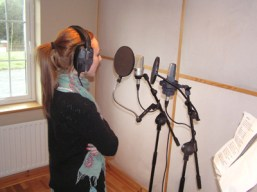 Lisa Marie Murphy Recording Vocals