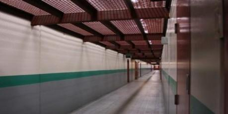 August 2011 of a corridor inside the SHU At pbsp