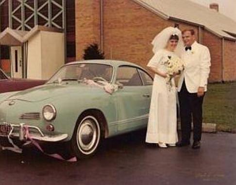 Mom & Dad, Wedding Day in 1967