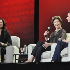 Former First Lady Laura Bush on Civility, Life After the White House During AARP Life@50+