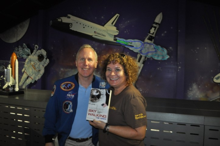 Tom Jones, PhD, Flew on Four Space Shuttle Missions and Wrote Sky Walking: An Astronaut's Memoir, Oct. 2015