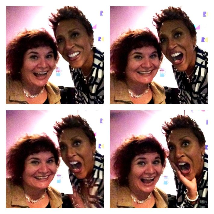 Selfie Fun with Robin Roberts, Sarasota, Fla., March 8, 2016
