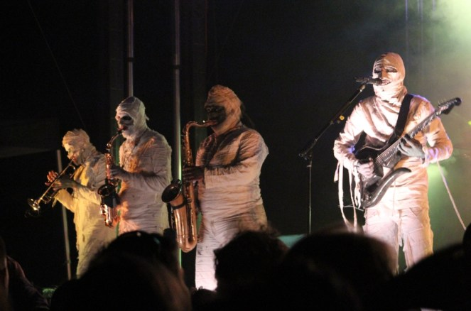 Here Come the Mummies at FunkFest 7 in Punta Gorda, Fla., March 2016.