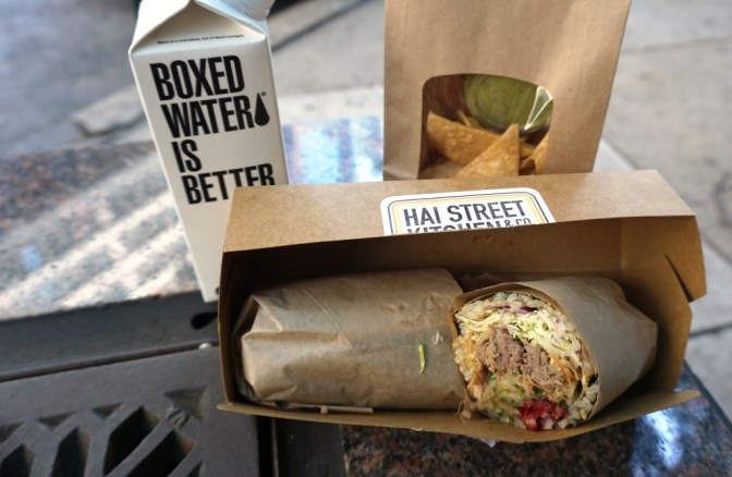 Vietnamese Pork Sushi Burrito from Hai Street Kitchen, Philadelphia, June 2016