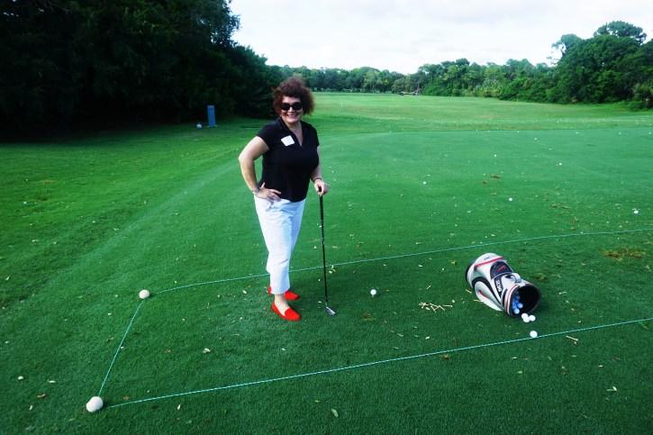 My Golf Clinic Attire.