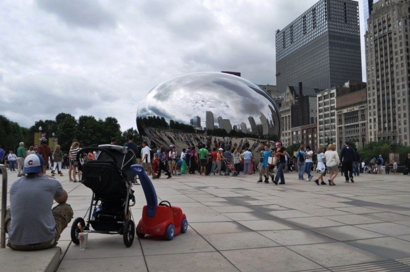 Cloud Gate at Millennium Park in Chicago