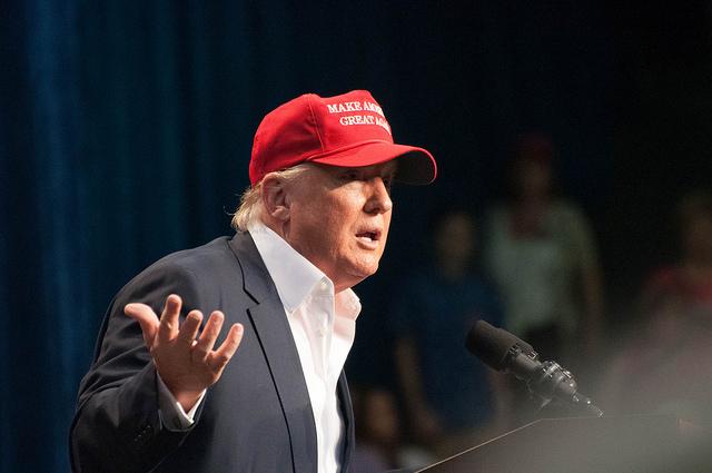 Donald J. Trump Campaigned in Sarasota, Nov. 28, 2015